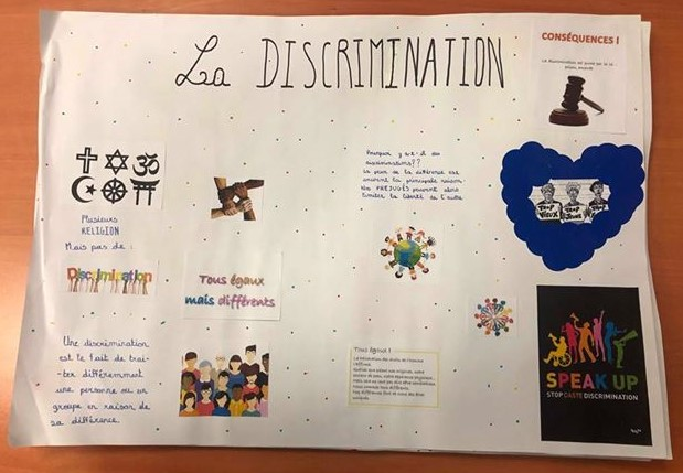 Prévention discriminations racisme FACE