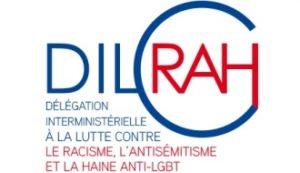 logo délégation interministérielle à la lutte contre le racisme, l'antisémitisme et à la haine anti LGBT